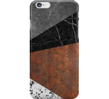 Marble, Granite, Rusted Iron Abstract iPhone Case/Skin