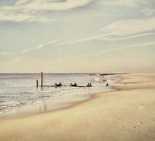Vintage Dawn at Cape May by Kadwell