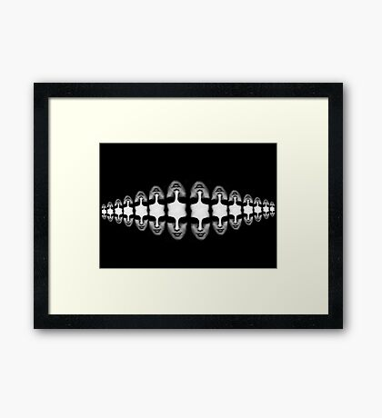 Toward Ambiguity Framed Print