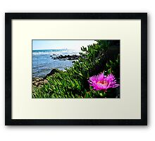 Italian Sea Framed Print