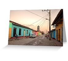 Trinidad On My Mind Greeting Card