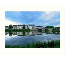 France Yonne River Art Print