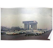 Contractor Parking in Corona Poster