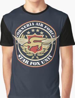 Corneria Air Force Graphic T-Shirt