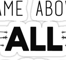 Jesus Name Above All Names  Sticker