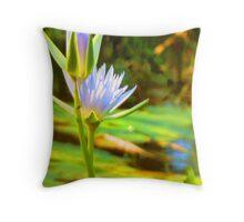 Waterlily's Throw Pillow ,Cushion Throw Pillow