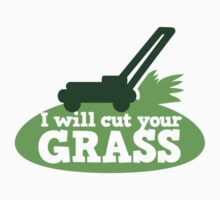 I will cut your GRASS with lawn mower by jazzydevil
