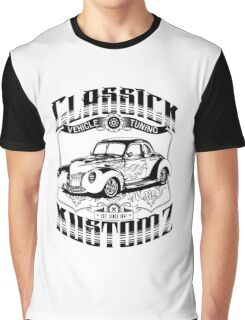 Hot Rod - Classic Kustomz (black) Graphic T-Shirt