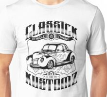 Hot Rod - Classic Kustomz (black) Unisex T-Shirt