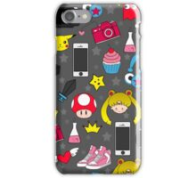 Geek Pattern iPhone Case/Skin