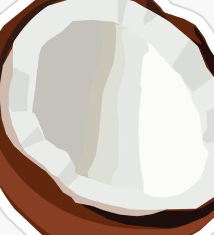 Coconut Vector Sticker