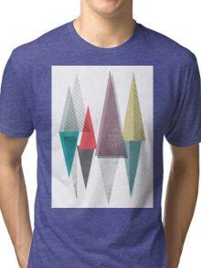 abstract tringles Tri-blend T-Shirt