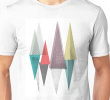 abstract tringles Unisex T-Shirt