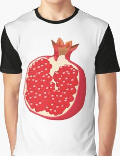 Pomegranate Vector Graphic T-Shirt