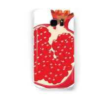 Pomegranate Vector Samsung Galaxy Case/Skin