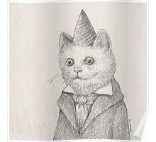 Birthday Kitty Poster