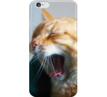 Opera Singer, Baritone. iPhone Case/Skin