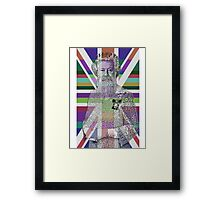 God Shave the Queen! Framed Print