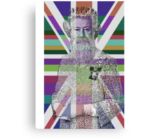 God Shave the Queen! Canvas Print