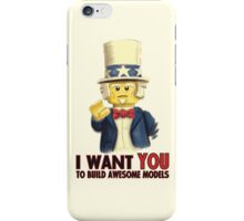 Lego Uncle Sam iPhone Case/Skin