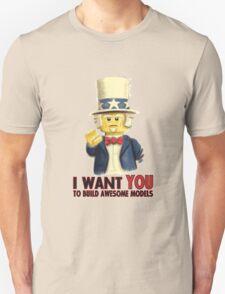 Lego Uncle Sam Unisex T-Shirt