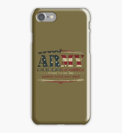 Armed Forces Day - Army iPhone Case/Skin