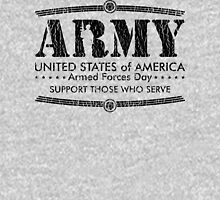 Armed Forces Day - Army Black Mens V-Neck T-Shirt