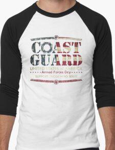 Armed Forces Day - Coast Guard Men's Baseball ¾ T-Shirt