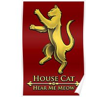 House Cat Poster