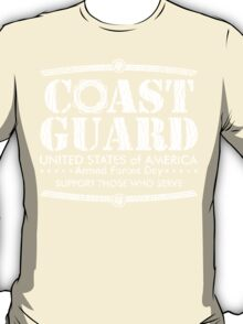 Armed Forces Day - Coast Guard White T-Shirt