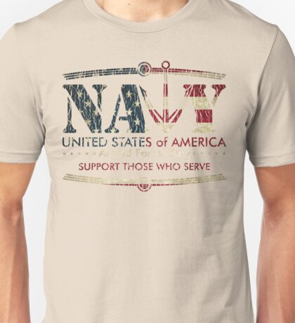 Armed Forces Day - Navy Unisex T-Shirt