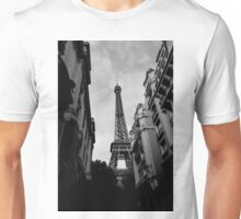 Eiffel Tower Different Perspective Unisex T-Shirt