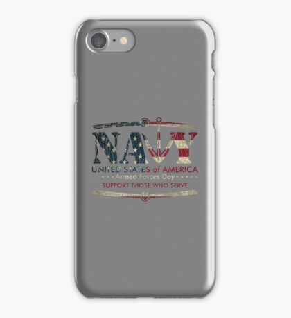 Armed Forces Day - Navy iPhone Case/Skin