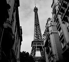 Eiffel Tower Different Perspective by OmarKy