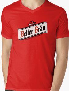 Belter Brau Mens V-Neck T-Shirt