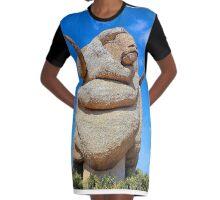 The Big Merino, Goulburn NSW Graphic T-Shirt Dress