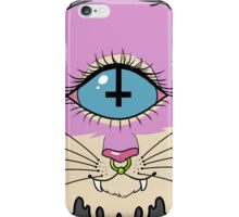 cyclops cat iPhone Case/Skin