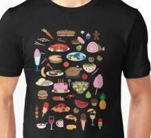Food Glorious Food (black) Unisex T-Shirt