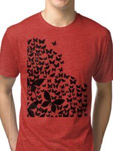Summer Butterfies Tri-blend T-Shirt