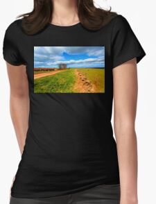 THE YORKSHIRE DALES Womens Fitted T-Shirt