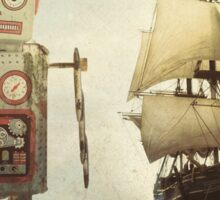sailing takes me away... Sticker
