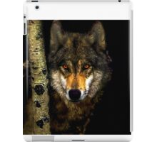 Wolf from Kaibab Forest in Arizona iPad Case/Skin