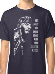 Oddball Says (white on black) Classic T-Shirt