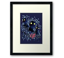 Heartless - blush Framed Print