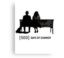 (500) Days of Summer Canvas Print