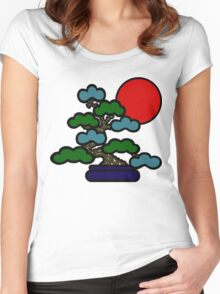 Sunrise Bonsai Women's Fitted Scoop T-Shirt