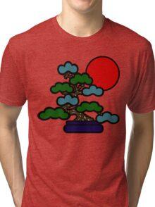 Sunrise Bonsai Tri-blend T-Shirt