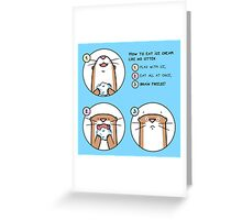 Brain Freeze! Greeting Card