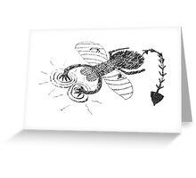 DX Fly Greeting Card