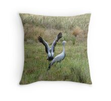 The love dance Throw Pillow